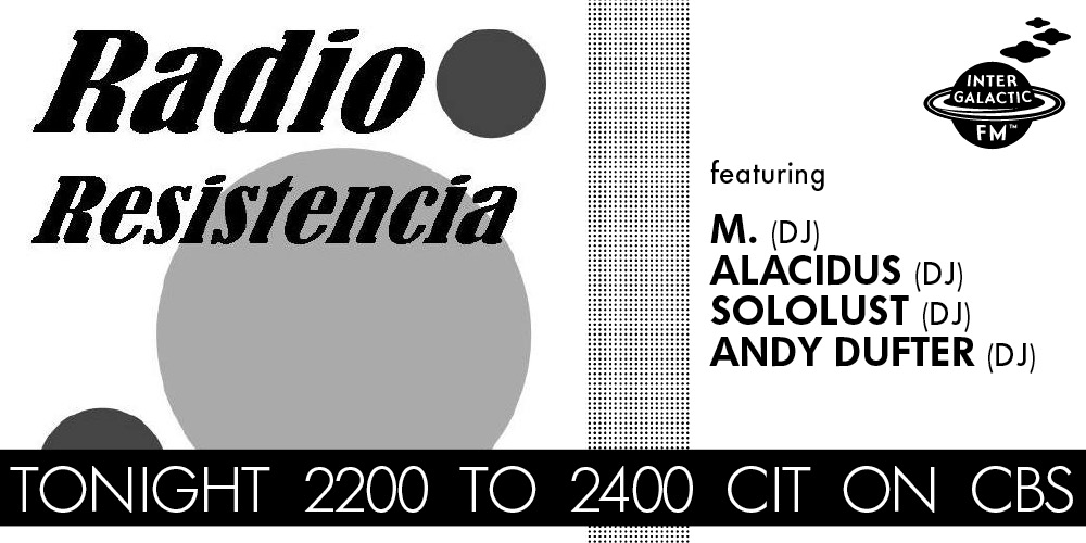 Tonight 2200 CIT: Radio Resistencia