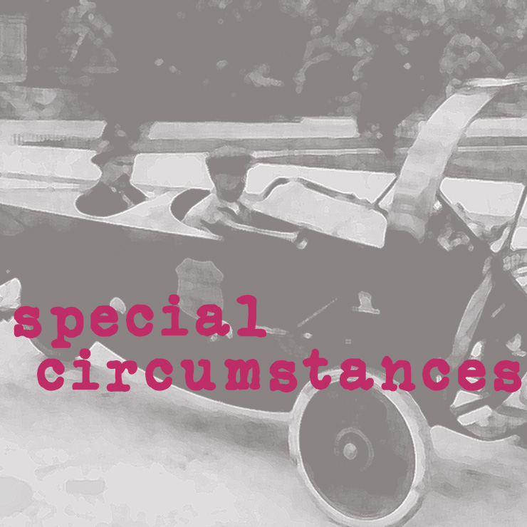 Special Circumstances : Just Passing Through :  Saturday at 20:00 CET on The Dream Machine